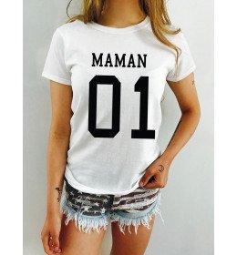 T-shirt femme MAMAN 01