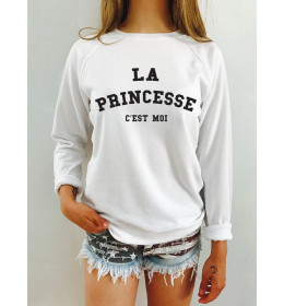 Woman sweater LA PRINCESSE C'EST MOI