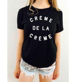 T-shirt femme CRÈME DE LA CRÈME
