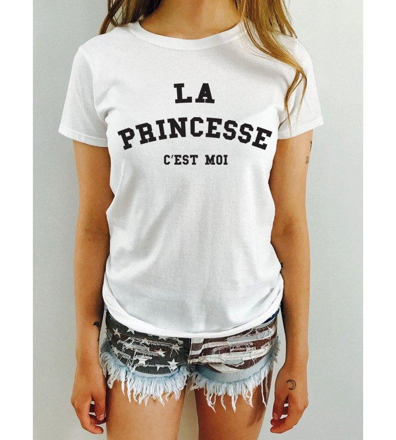 T-shirt femme LA PRINCESSE C EST MOI - Femme - deparis.me 395ff10f95be