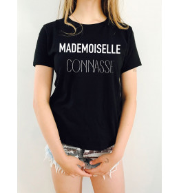 T-shirt femme MADEMOISELLE CONNASSE