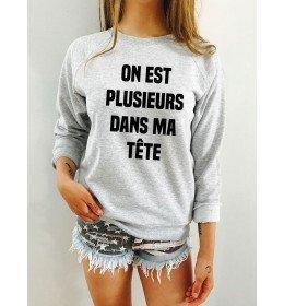Woman sweater ON EST PLUSIEURS DANS MA TÊTE