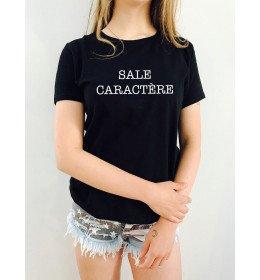 T-shirt femme SALE CARACTÈRE
