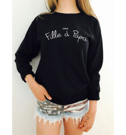 Woman sweater UNE FILLE A PAPA