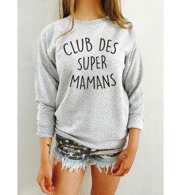 Sweat Femme CLUB DES SUPER MAMANS