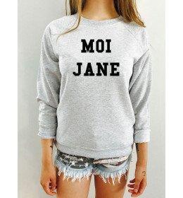 Sweat femme MOI JANE