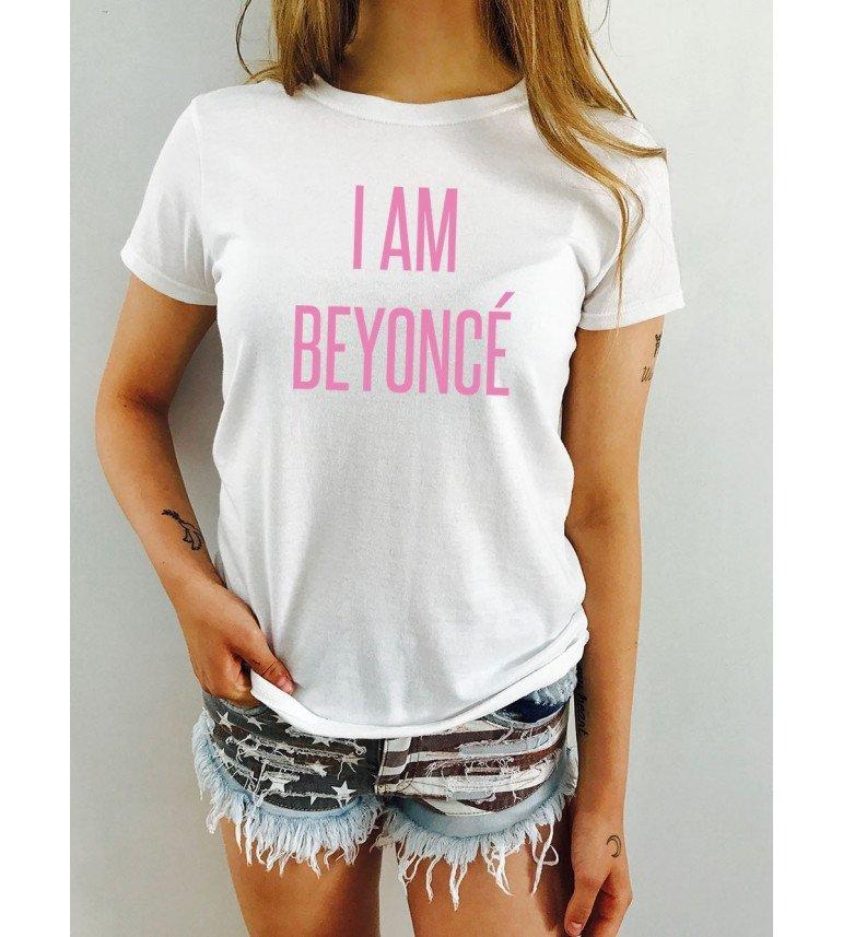 T-shirt femme I AM BEYONCE