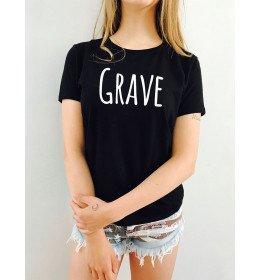 Woman T-shirt GRAVE