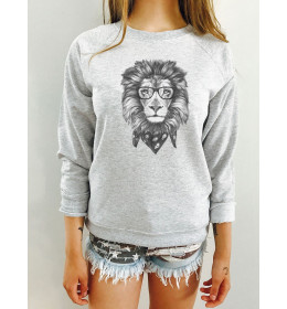 Woman sweater LION FACE