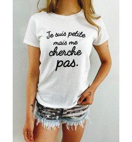 Woman T-shirt JE SUIS PETITE