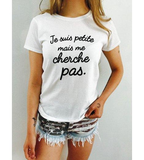 T-shirt femme JE SUIS PETITE
