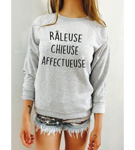 Sweat Femme RÂLEUSE CHIEUSE AFFCETUEUSE