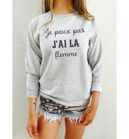 Woman Sweater JE PEUX PAS J'AI LA FLEMME