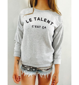 Woman Sweater LE TALENT C'EST ÇÀ