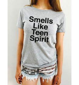 T-shirt Femme SMELLS LIKE TEEN SPIRIT