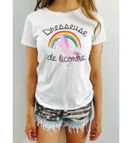 T-shirt femme DRESSEUSE DE LICORNE