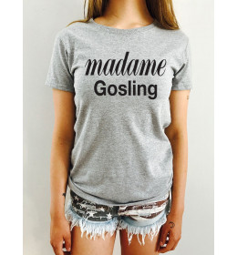 Woman T-shirt MADAME GOSLING