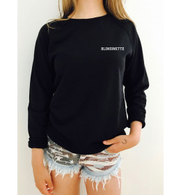 Woman embroidered Sweater BLONDINETTE