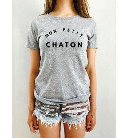 Woman T-shirt MON PETIT CHATON