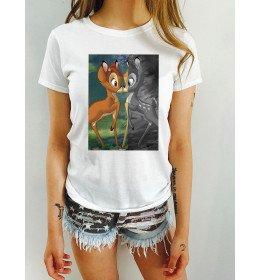 T-shirt Femme BAMBI KISS