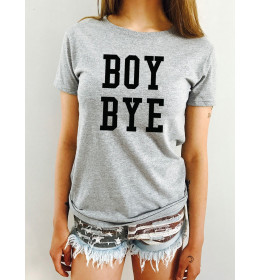 Woman T-shirt BOY BYE