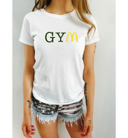 Woman T-shirt GYM