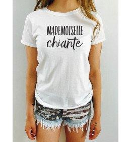 Tee-Shirt Femme MADEMOISELLE CHIANTE