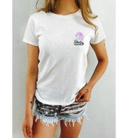 Tee-Shirt Femme CUTE LICORNE