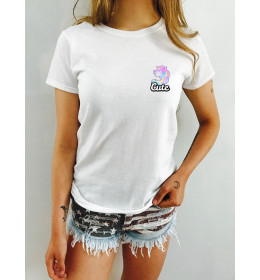 Woman T-shirt CUTE LICORNE