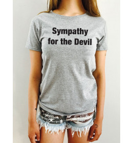 T-shirt Femme SYMPATHY FOR THE DEVIL