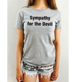 Woman T-shirt SYMPATHY FOR THE DEVIL
