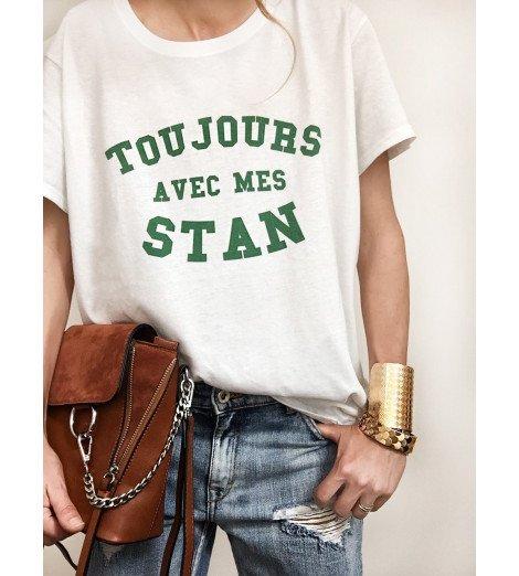 T-shirt femme TOUJOURS AVEC MES STAN