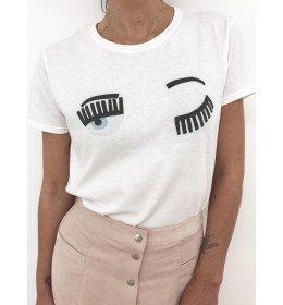 Woman T-shirt WINK