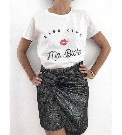 T-shirt Femme KISS KISS MA BICHE