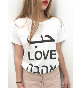 Woman T-shirt UNIVERSAL LOVE