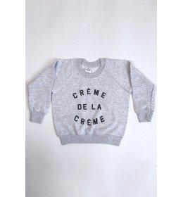 SWEAT ENFANT CRÈME DE LA CRÈME