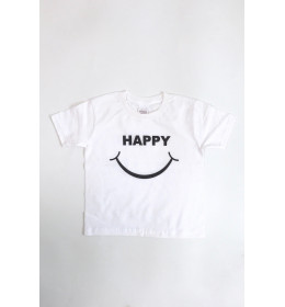 KIDS T-SHIRT HAPPY