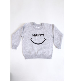 SWEATSHIRT HAPPY