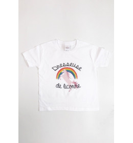 Kid T-shirt DRESSEUSE DE LICORNE