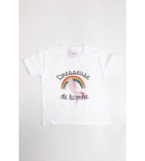 T-shirt Enfant DRESSEUSE DE LICORNE