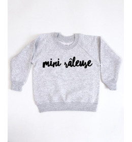 SWEAT ENFANT MINI RÂLEUSE