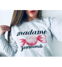 Sweat Femme MADAME GOURMANDE