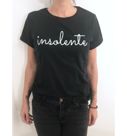 WOMAN T-SHIRT INSOLENTE