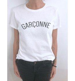 T-SHIRT FEMME GARÇONNE