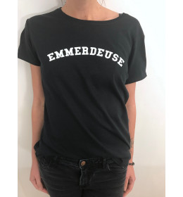 WOMAN T-SHIRT EMMERDEUSE