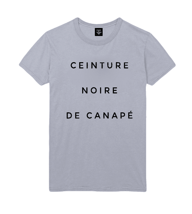 T-shirt Homme CEINTURE NOIRE DE CANAPE