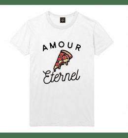 Man T-shirt PIZZA AMOUR ETERNEL