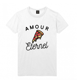 T-shirt Homme PIZZA AMOUR ETERNEL
