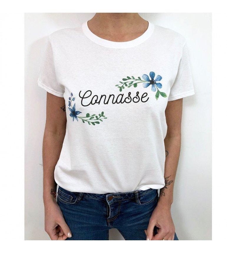 T-shirt Femme CONNASSE