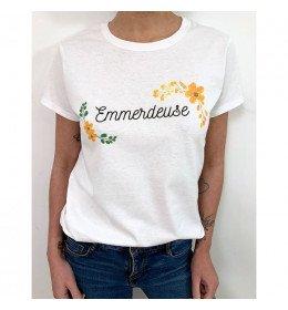 T-shirt Femme EMMERDEUSE